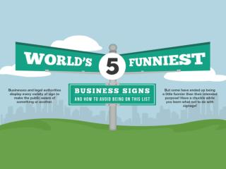World's 5 Funniest Business Signs
