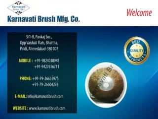Polishing Brushes, Abbrasive Brush
