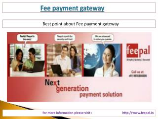 A Best Guide for fee payment gateway