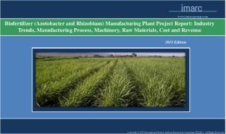 Biofertilizer Manufacturing Plant Project Report
