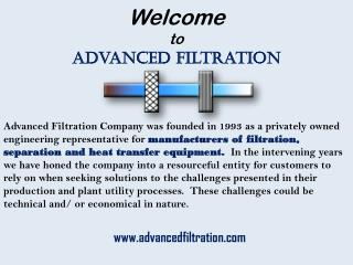 Filtrationfiltration and Heat Transfer Equipment