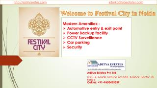 Festival City in Noida