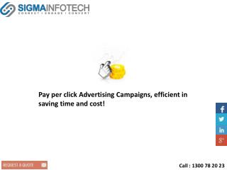 Pay per click Advertising Campaigns, efficient in saving tim
