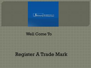 Register A Trade Mark