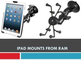 iPad Mounts from RAM