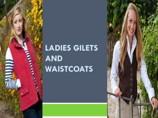 Ladies Gilets and Waistcoats