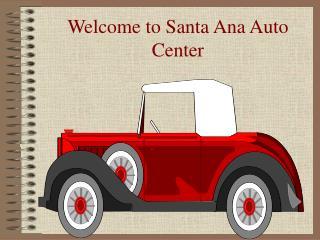 Santa Ana Auto Center
