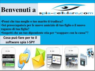 Welcome to Spia-Cellulare.Com