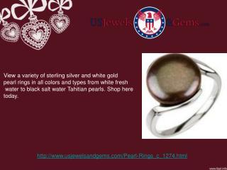 Pearl Rings Online