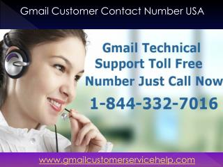 Gmail Technical Support 1-8-44-332-7016 Number USA