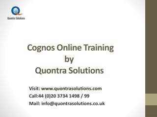 What is Cognos ?