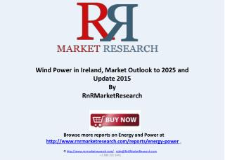 Wind Power Market Outlook to 2025 and Update 2015