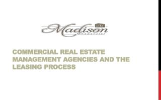 Commercial Real Estate Management Agencies
