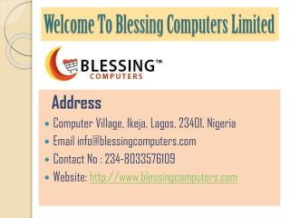 Buy Notebook Computers Online in Nigeria – Blessing Computer