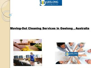 Moving-Out Cleaning Services in Geelong , Australia
