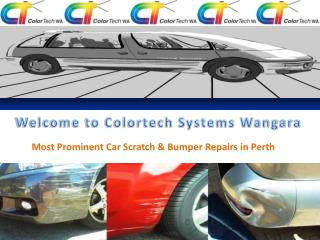 Car Dent, Car Paint and Scratch Repairs in Perth