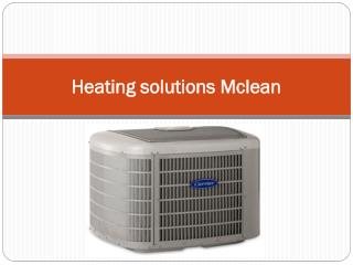 Heating solutions Mclean