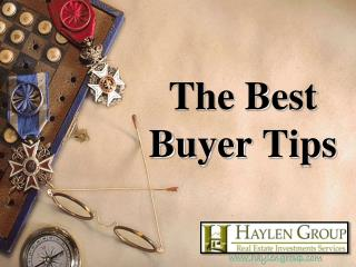 The Best Buyer Tips