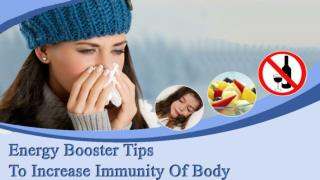 Herbal Energy Booster Pills to Increase Immunity of Body