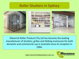Commercial Roller Shutters and Grilles