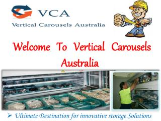 Warehouse Shelving - Vertical Carousels Australia