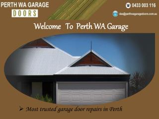 Perth WA Garage Doors Motor