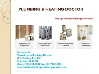 Heating Repairs Cranston RI