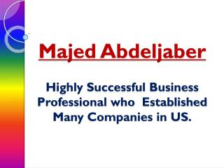 Majed Abdeljaber Business Professionals