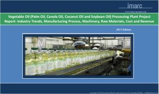Vegetable Oil Processing Plant Project Report