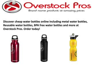 Cheap Water Bottles Online