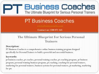 PT Business Coaches
