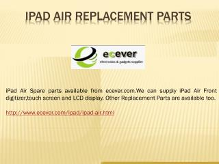 ipad air screen replacement parts