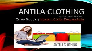 Women�s Cotton Dress Australia