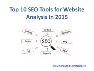 Top 10 SEO Tools for Website Analysis in 2015