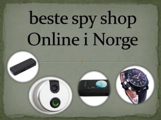 beste spy shop Online i Norge