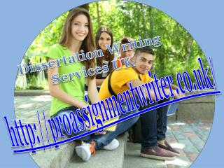 Dissertation Writing Services UK - PRO Assignment Writer