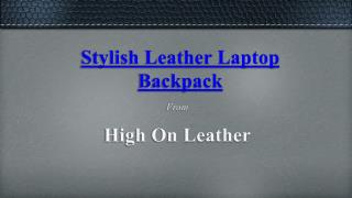 Leather Men's Rucksacks and Backpacks