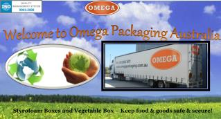 Omega Packaging - Polystyrene Boxes