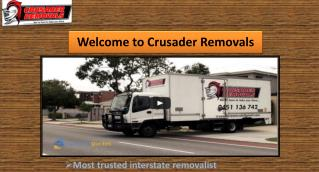 Crusader Removals - Moving Company