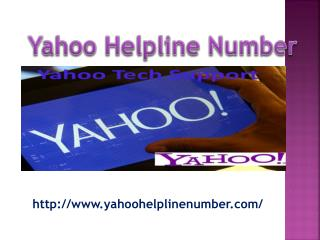 Call on yahoo technical support  help center