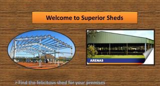 Superior Sheds - Garage Sheds in Perth