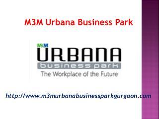 Office space at M3M Urabana Business park Gurgaon Sec-67