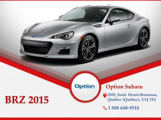 Subaru BRZ 2015 à Québec - Un véhicule sport de performance