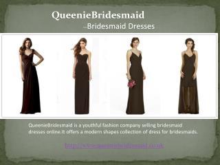 Queeniebridesmaid brown dresses