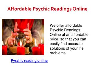 Affordable psychic readings