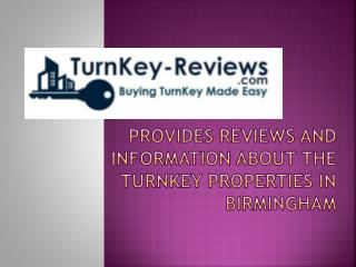TurnKey-Reviews.com � Reviews about Turnkey Properties
