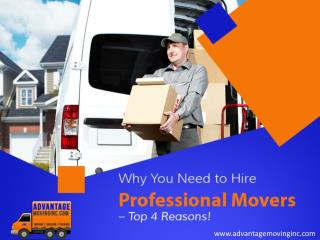 Professional Residential Movers in Bel Air, MD – Why To Hire