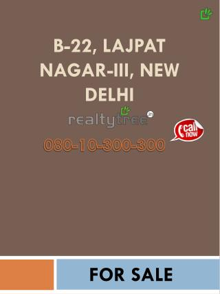 Floor for sale in Lajpat Nagar 3