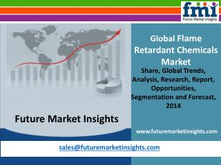 Flame Retardant Chemicals Market by FMI