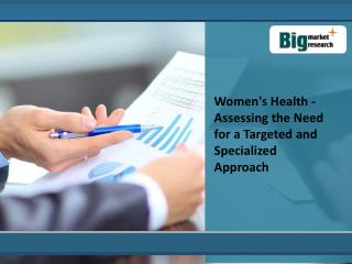 overview Of Womens Health Market